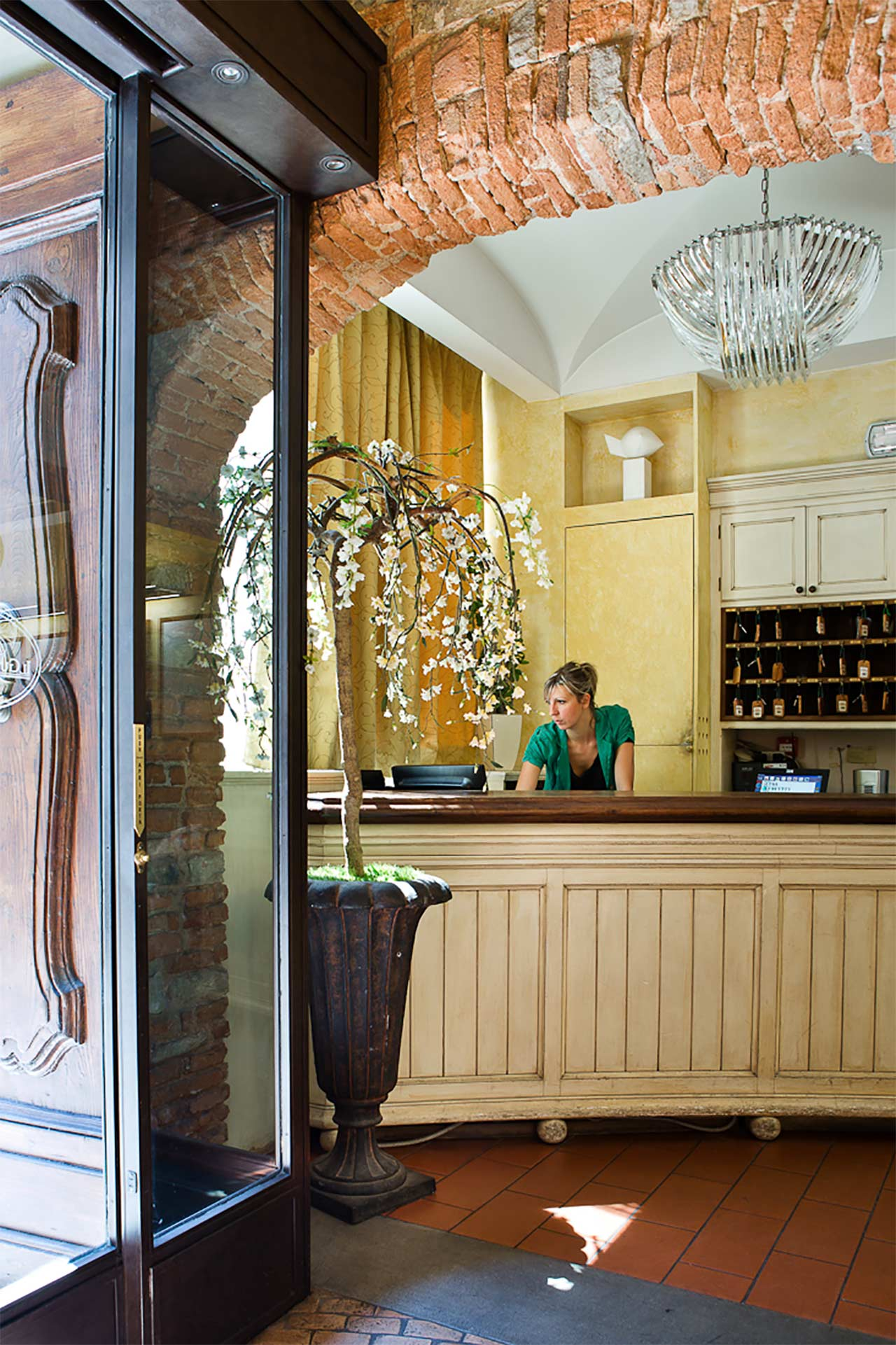 welcome at hotel Il Guelfo BIanco Florence