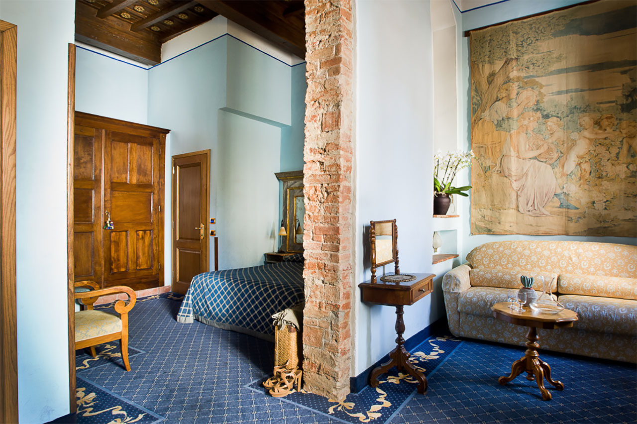 Junior suite family room Il Guelfo Bianco Florence