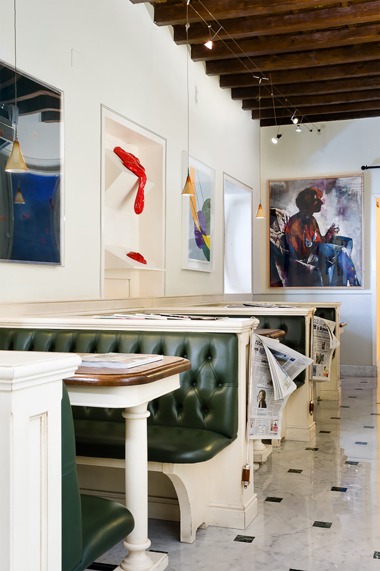 hotels interiors florence Il Guelfo Bianco