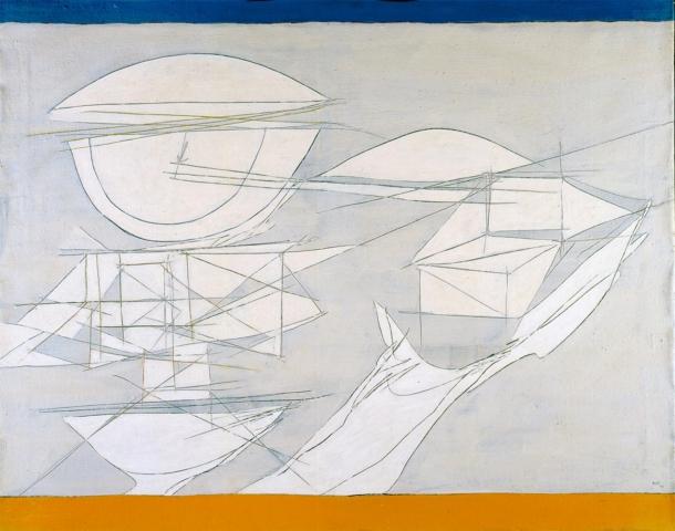 Achille Perilli art collection