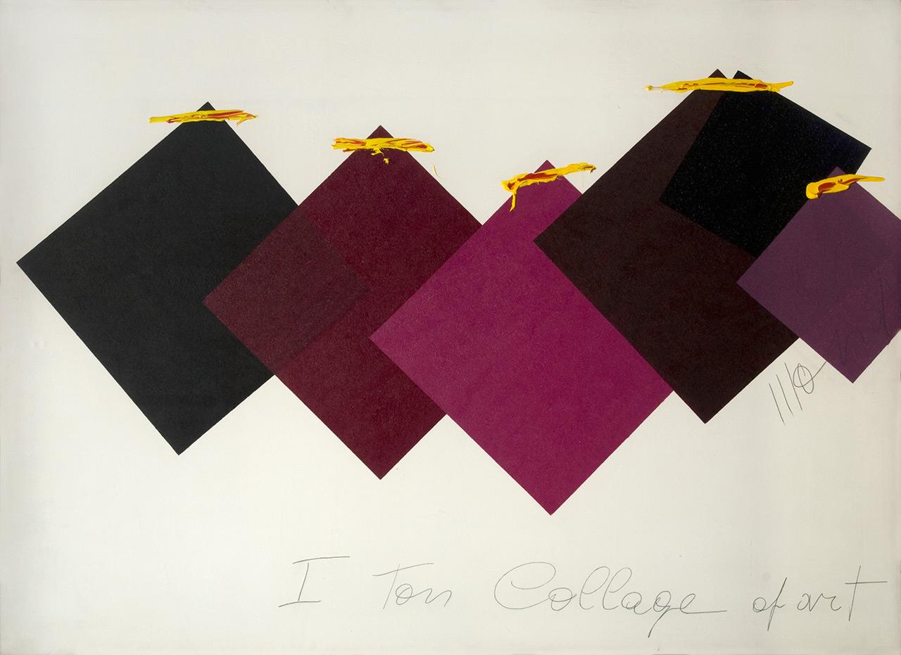 Aldo Mondino art collection