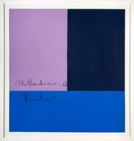 Tricolore by Aldo Mondino