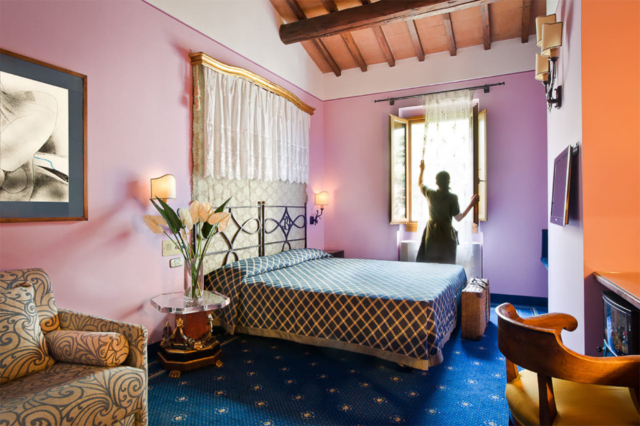 Superior double room Hotel Il Guelfo Bianco Florence